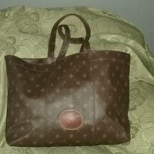 Handbags - Vespucci Saddle LEATHER Tote
